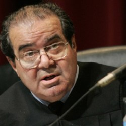 Justice Scalia was known for making some controversial decisions during his time on the Supreme Court. (Mark Avery/Zuma)