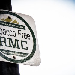 Tobacco Free RMC can be reached at tobaccofree@rocky.edu Photo by Nicolas Cordero