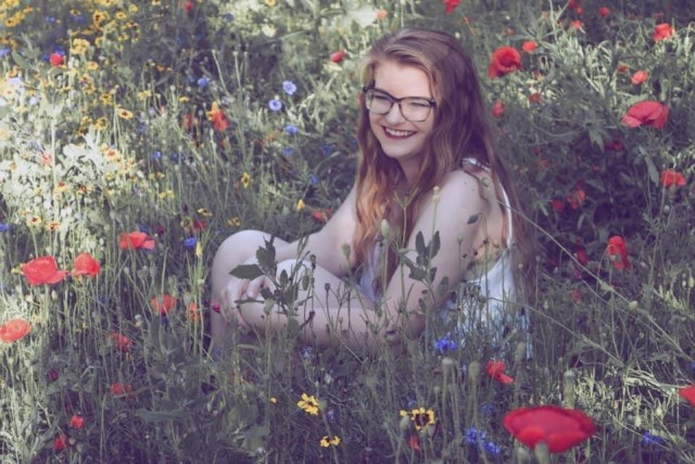 """A photo of Megan Logan, who has served as """"Green"""" in this year's Green & Gold feature."""