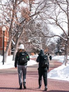 RMC students walking to class - Photo by Oliver Walker