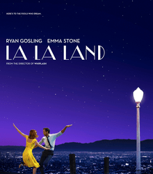 La La Land movie poster obtained from Wikipedia
