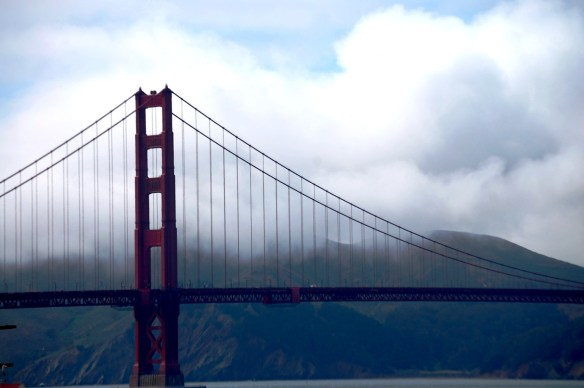 Golden Gate Bridge in May