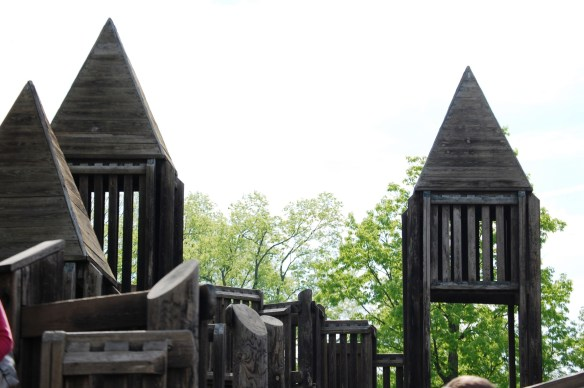 The Spires if the Playground
