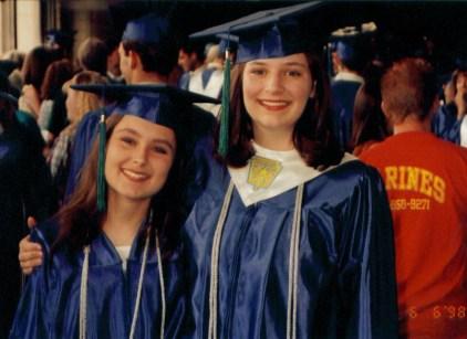 Amaree at her high school in Jun 1998