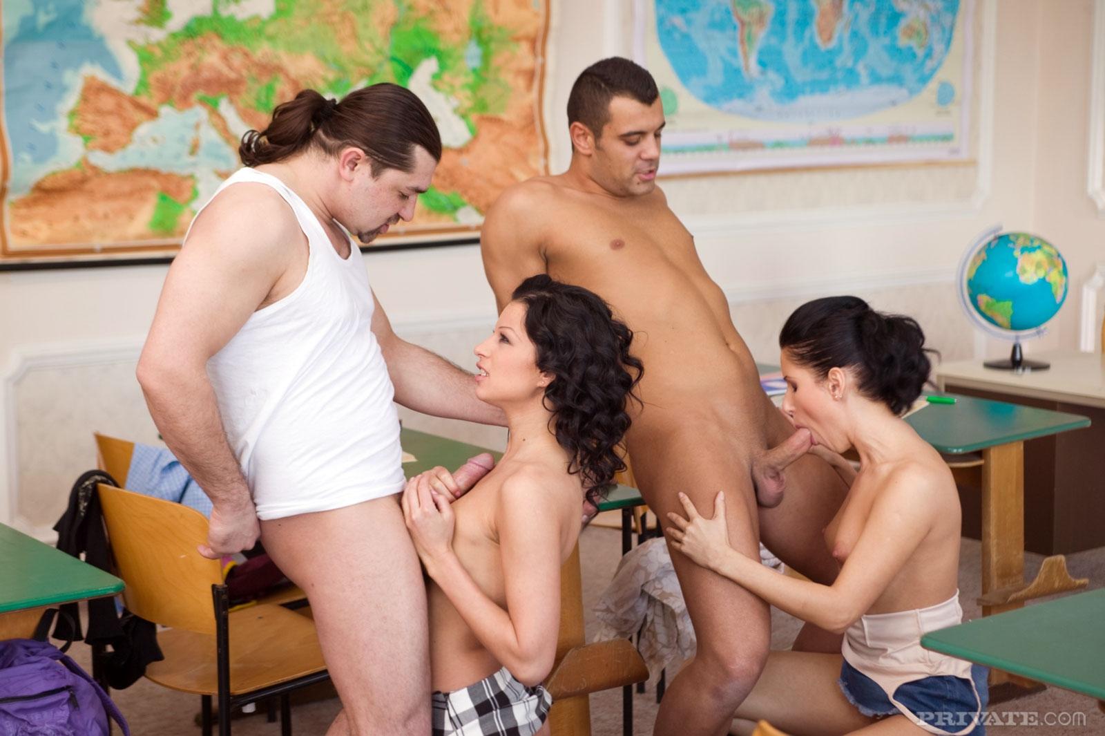 Секс Студентов