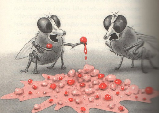 """The Vomit-Eating Flies"""