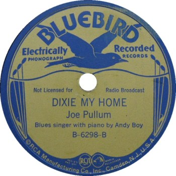 Joe Pullum: Dixie Is My Home