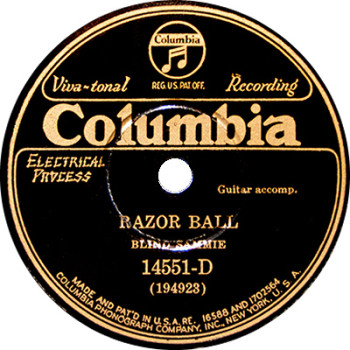 Blind Willie McTell - Razor Ball