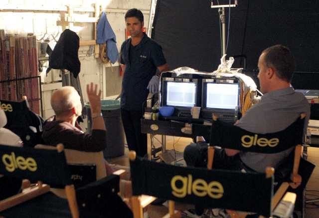 ENTER TV-GLEE-STAMOS 2 LA