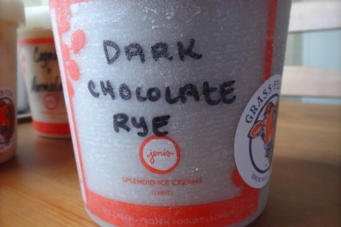 Zelda Collection: Jeni's Dark Chocolate Rye