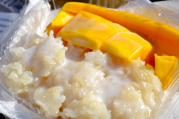 Saranya Stick Rice with Mango