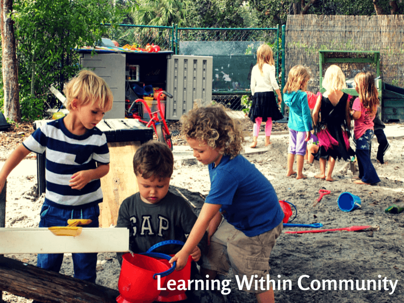 Learning Within Community in Early Childhood Education at Sunflower Creative Arts