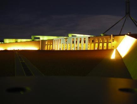 Australisches Parlament, Canberra