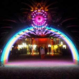 Entering Center Camp, 2010