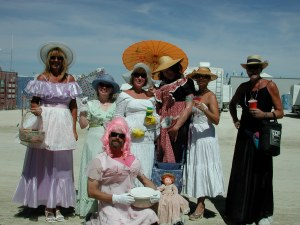 Stepford Wives at Burning Man:  Nothing Unusual for BRC's inclusive world