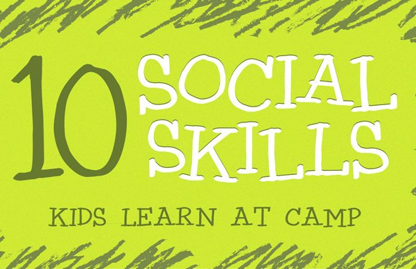 10 Social Skills Kids Learn at Camp