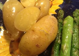 butter olive oil potatoes