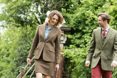 Lifestyle shoot for luxury country clothing brand Butler ...