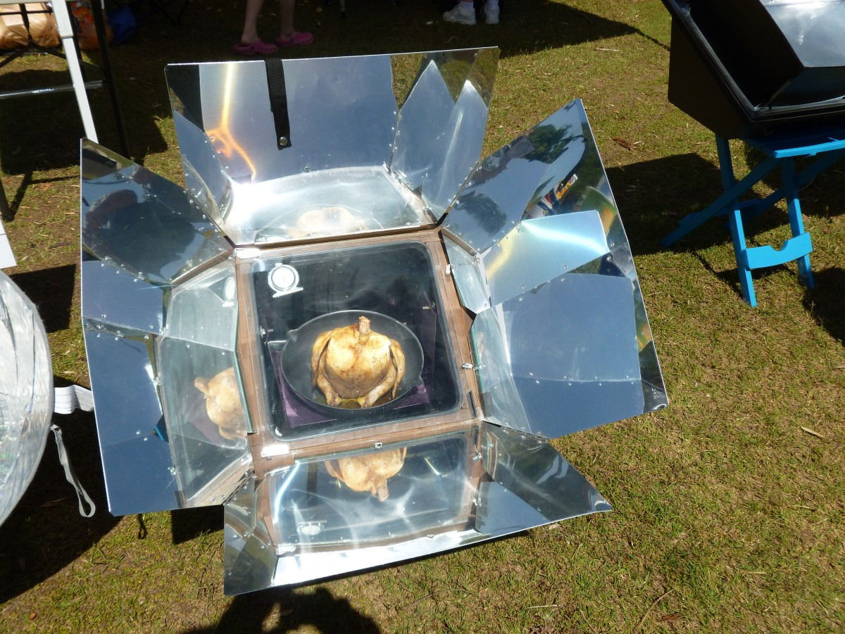 Solar Cooking in an Emergency