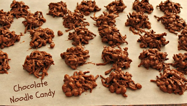 Chocolate Noodle candy
