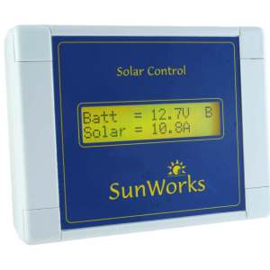 solar charge controller lcd