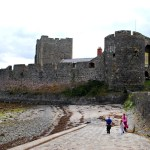 Making memories at Carrickfergus Castle