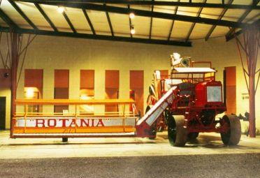 La Rotania estará en exhibición en Tecnópolis hasta el 3 de octubre.
