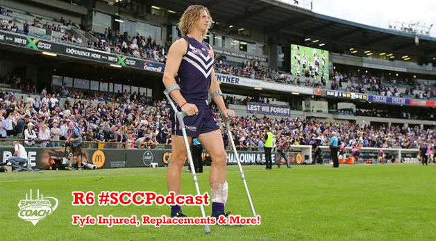 Fyfe Injured, Replacements & More #SCCPodcast.2016-R6