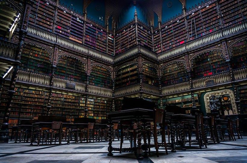 Biblioteca real português, Rio de Janeiro, Brasil