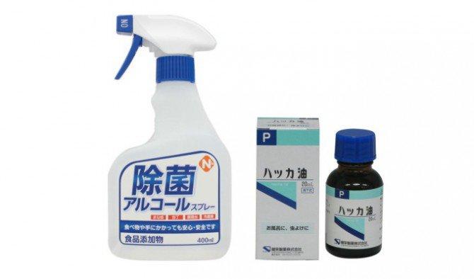 ハッカ油とアルコールで作る無害な滅菌&防虫スプレーの作り方