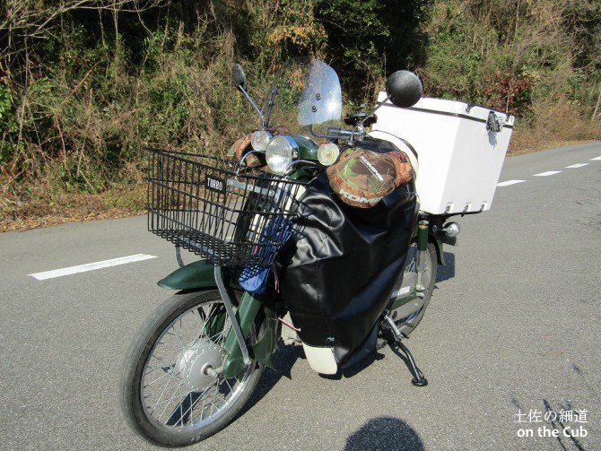 バイク(カブ)の防風・防寒対策まとめ