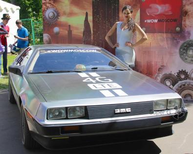 DeLorean DMC-12 на Geek Picnic 2015