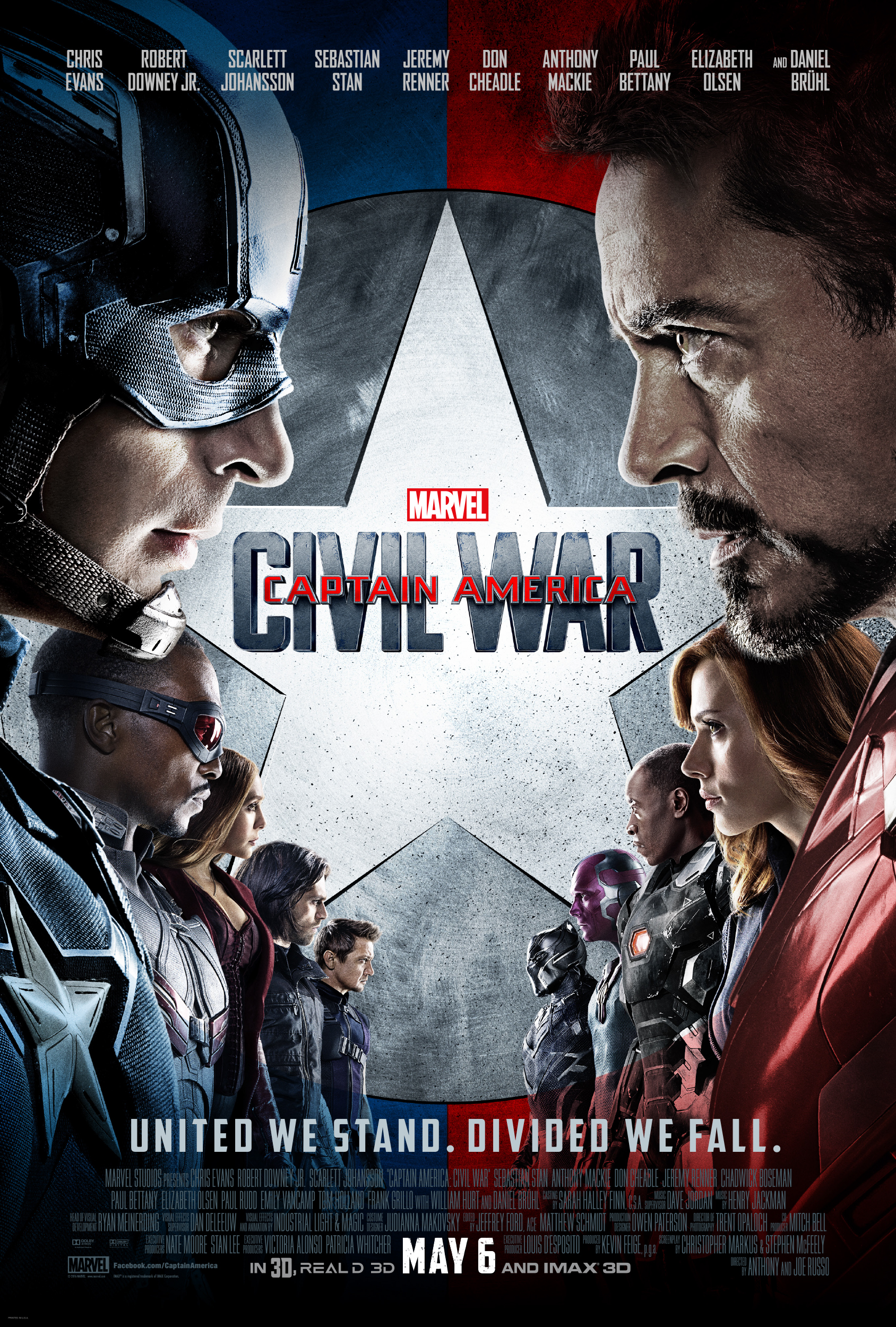 New Captain America Civil War Poster Shows The Teams Face Off