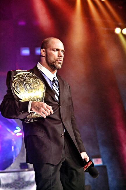 Kurt Angle / Imagen autorizada por TNAwrestling.com para Súper Luchas