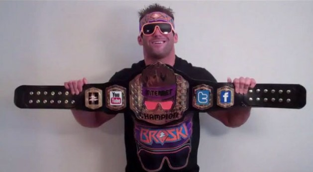 "Zack Ryder, ""WWE Internet Champion"""
