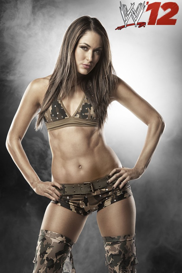 """Brie Bella en """"WWE '12″"""