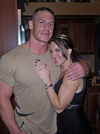 John Cena y Liz Huberdeau
