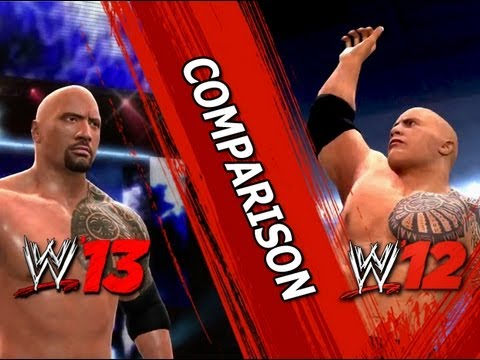 WWE' 12 vs WWE' 13