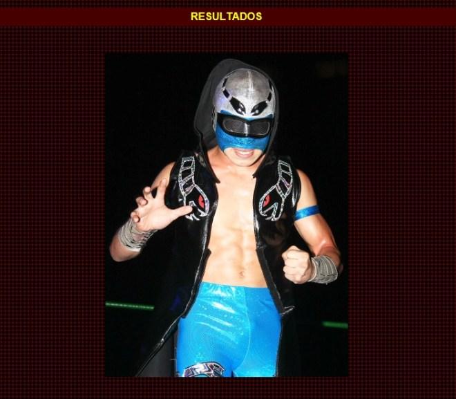 Stukita (en su presentación oficial) / Función de Navidad - Arena México - 25 de diciembre de 2012 / www.cmll.com