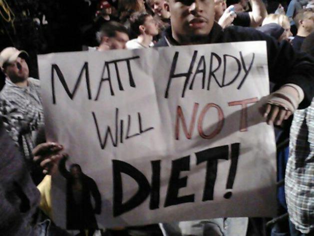 """Matt Hardy Will Not Diet"" / PWPonderings.com"