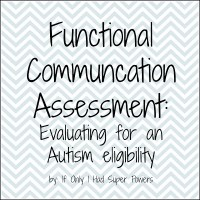 Functional Communication Assessment