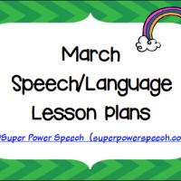 March Lesson Plans 2015