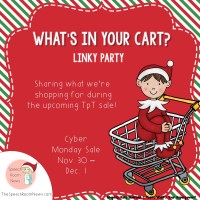 What's in Your Cart Winter Linky Party!