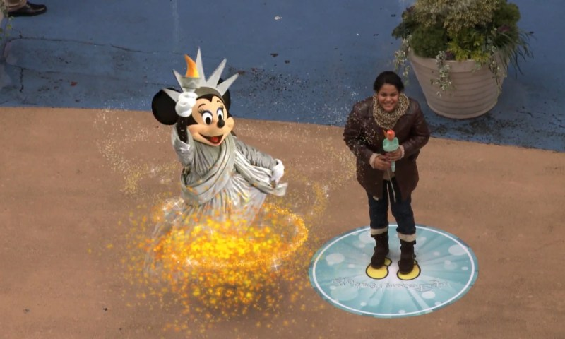 Disney AR @ Time Square