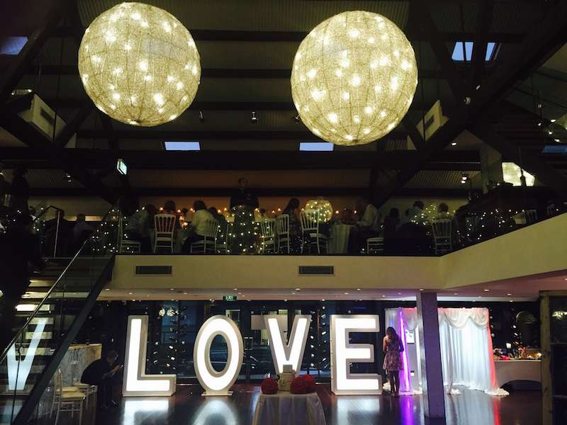 Gigantic LED Sign Of Love & Sydney Event Lighting Hire | Party Lights Hire | Laser Hire ... azcodes.com