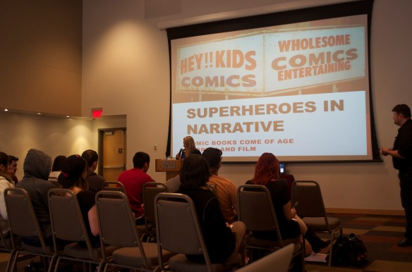 Superheroes in Narrative