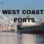 WEst Coast Ports-