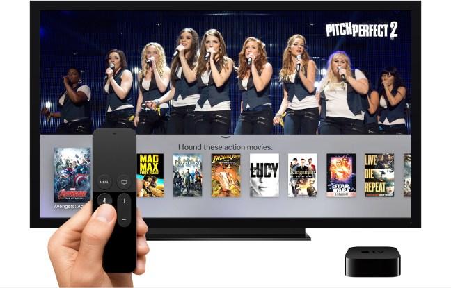 Búsqueda universal en Apple TV