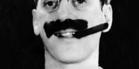 Groucho Marx (1890-1977) - American comedian