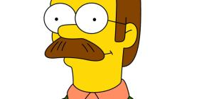 "Ned Flanders - fictional character in ""The Simpsons"""